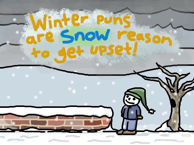 Snow Pun