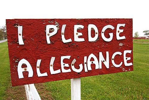 I Pledge Allegiance . . . Or Do I?