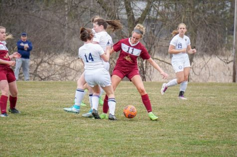 Girls Soccer Falls to Pinckney in Season Opener