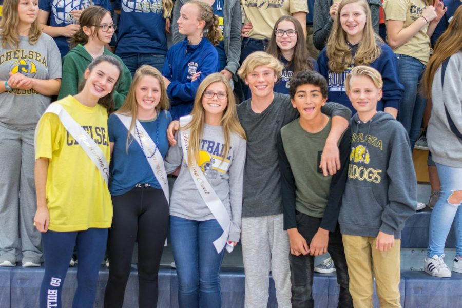 Freshmen Homecoming nominees 2017