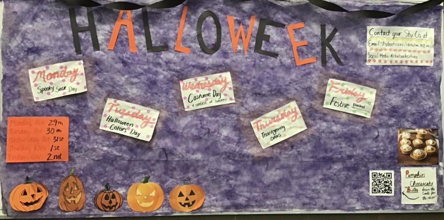 Halloween Spirit Week: A New CHS Tradition