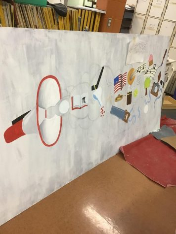 Art Students Spruce Up School Store With New Mural