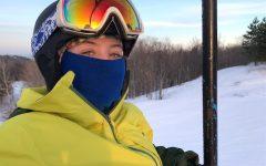Allison Hughes: Senior on the Slopes