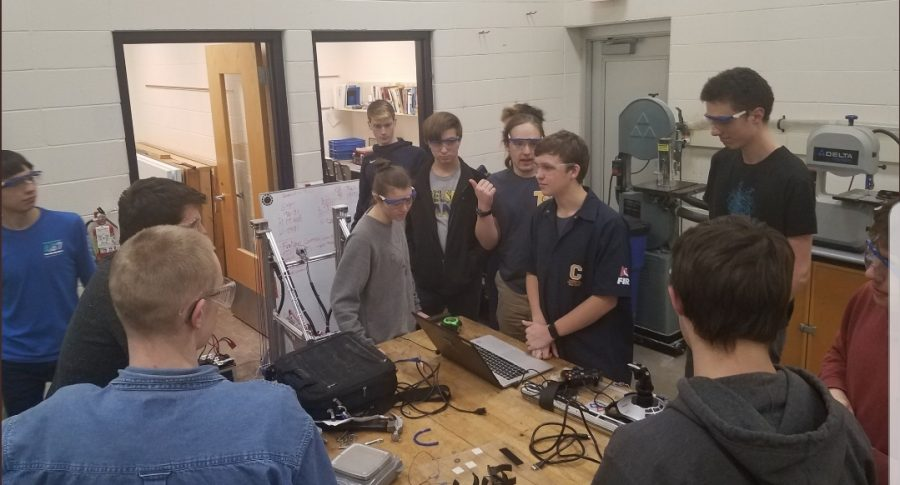 Robotics Begins Competition Season