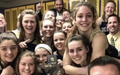 """Girls' Varsity Basketball Team Reaches Goal of """"Making History"""""""