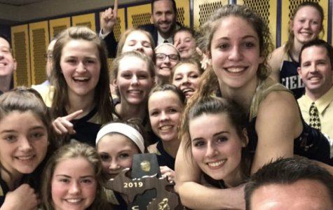 Girls' Varsity Basketball Team Reaches Goal of