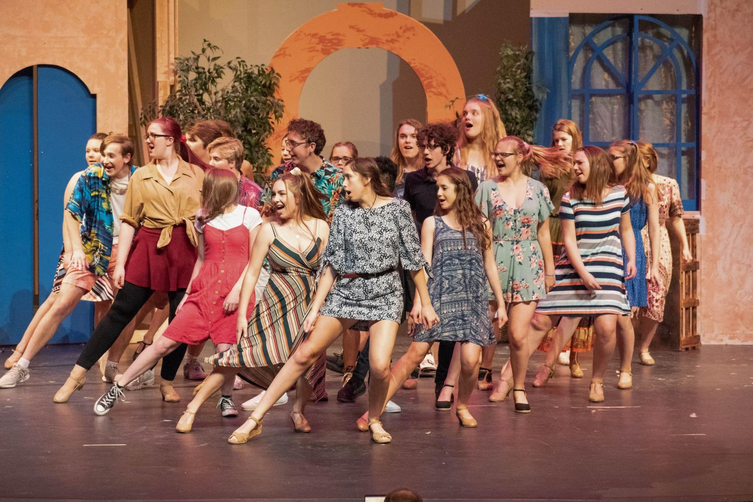 Mamma Mia! Fall Musical Review