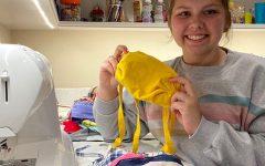 Quaran-Teens: Community-Focused Sophomore Starts Mask-Making