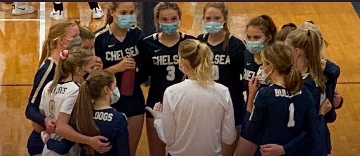 Chelsea Volleyball Finishes Season 7-2 Despite Covid-19 Related Setbacks