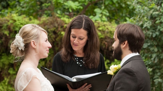 Blue and Bold: Kathryn McCalla, Teacher & Wedding Officiant