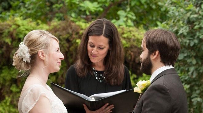 Blue and Bold: Kathryn McCalla, Teacher & Wedding Officiant