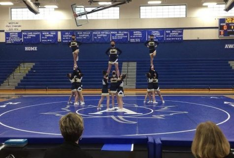 Competitive Cheer Places Second in First Competition